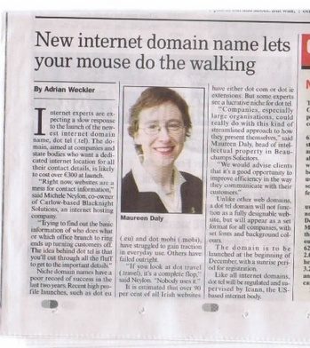 dottel article in Sunday Business Post
