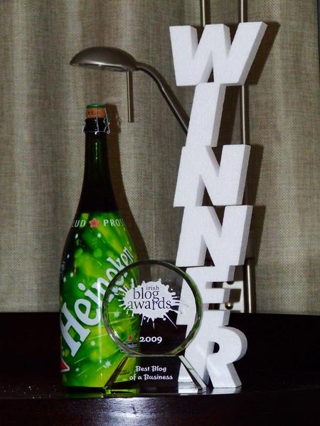 Irish Blog Awards 2009 Best Business Blog