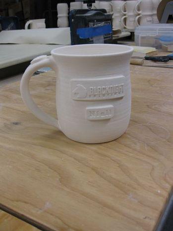 Blacknight Mug Before Glazing