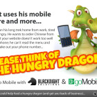 Get mobile with GoMobi and make a mobile (and dragon) friendly website for your business