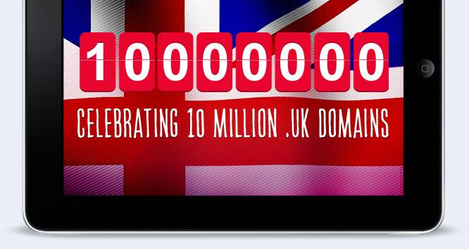 Celebrating 10 million .uk domains