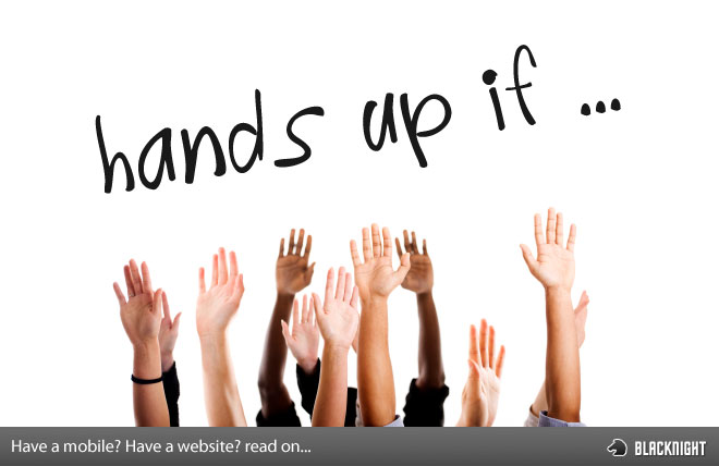 Hands up if