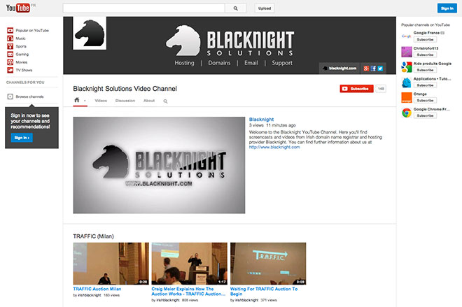 Our newly redesigned YouTube Channel