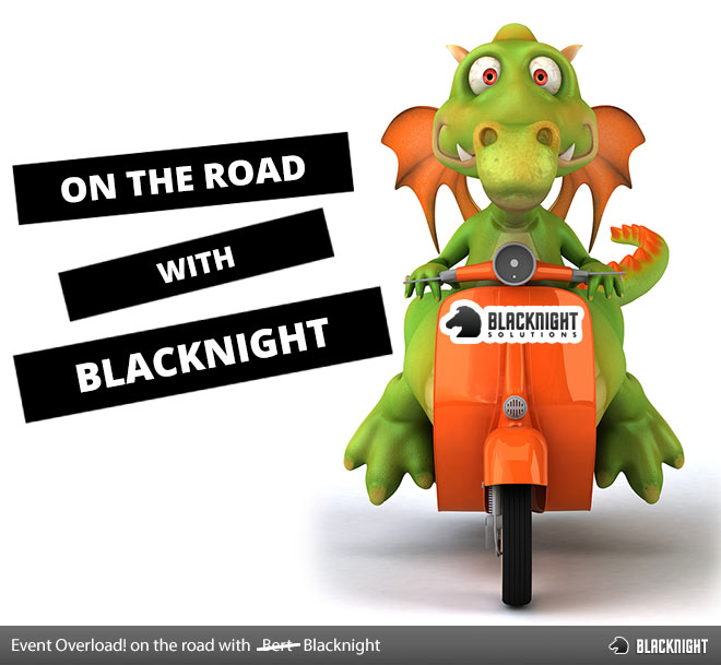 on the road with Blacknight