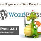 Please Upgrade your WordPress Installs