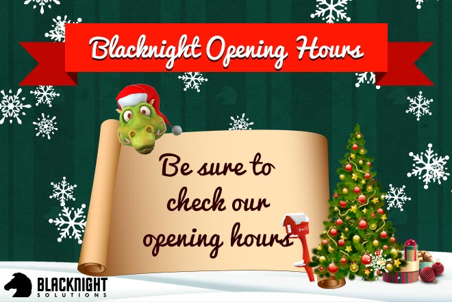 Christmas 2014 Opening Hours