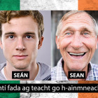Seán vs. sean: Accented characters are important!