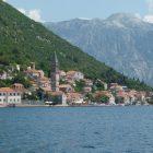 Montenegro coastline - photo taken from the sea
