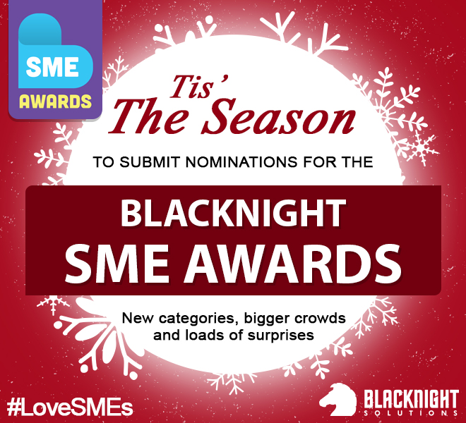 Nominate your business for the Blacknight SME Awards. It's Free!