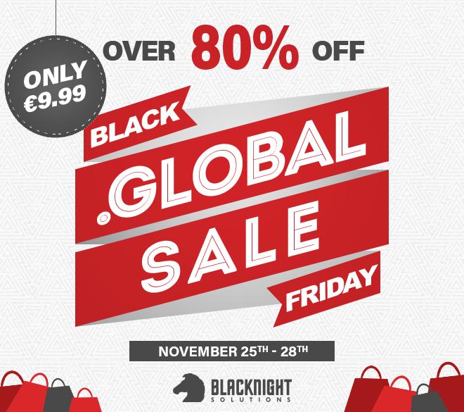 Borderless Black Friday dot-GLOBAL promotion