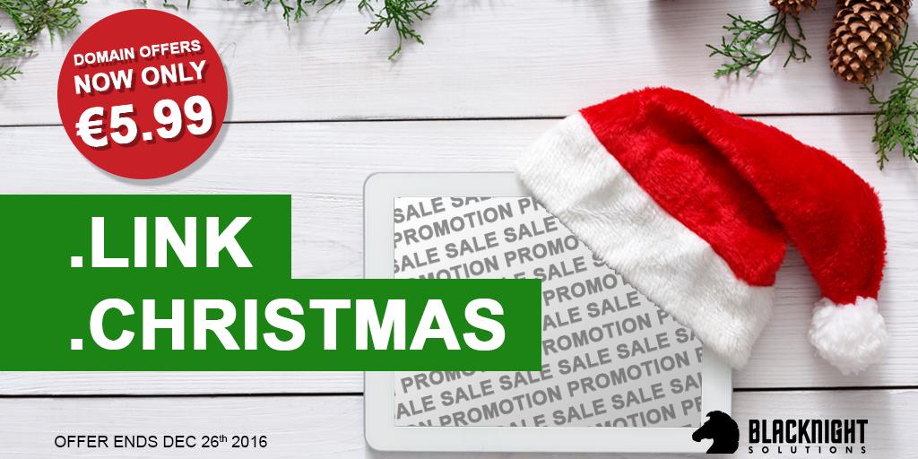 Blacknight dot-Christmas and dot-Link Promotion