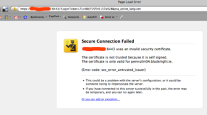 Firefox 3 Hates Self Signed SSL Certs