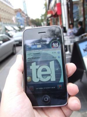 telnic iphone application