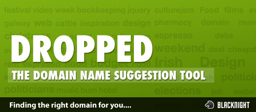 Dropped - The Domain Name Suggestion Tool