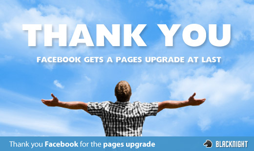 Facebook gets a pages upgrade