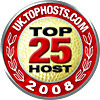 TopHosts UK Top 25 Hosting Providers 2008