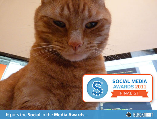Social Media Awards Finalist!