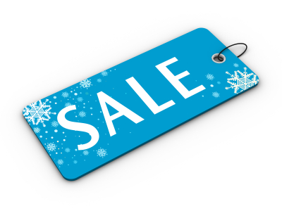 Christmas Sale Label