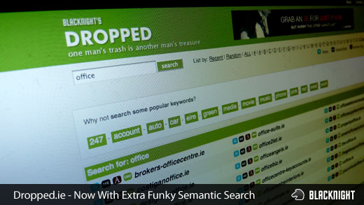 dropped.ie funky search