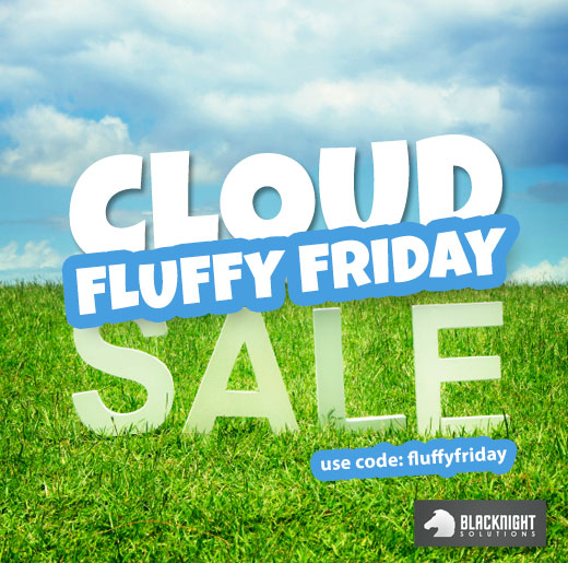 Cloud Hosting Fluffy Friday Promo