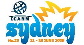 ICANN Sydney 2009 Logo