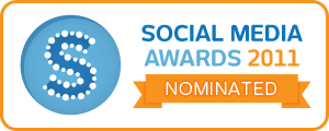 social media awards nominee badge