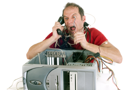technical support frustration