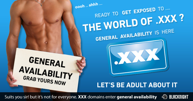 Register your .XXX with Blacknight