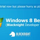 Windows 8 Beta - Blacknight Developer Preview