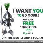 Get a 30 day trial of GoMobi