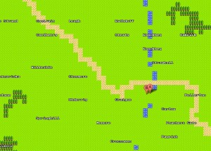 8 bit Google Maps showing our offices