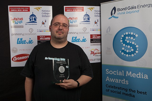 Michele Neylon CEO of Blacknight - Blog of a Business Award