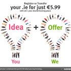 Save on .ie domains when you buy hosting