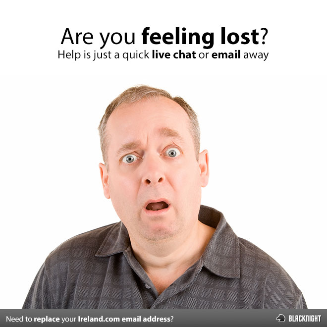 Not sure what to do about your Ireland.com email?