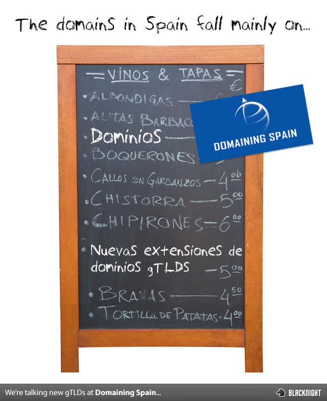 Domaining Spain 2013 Valencia