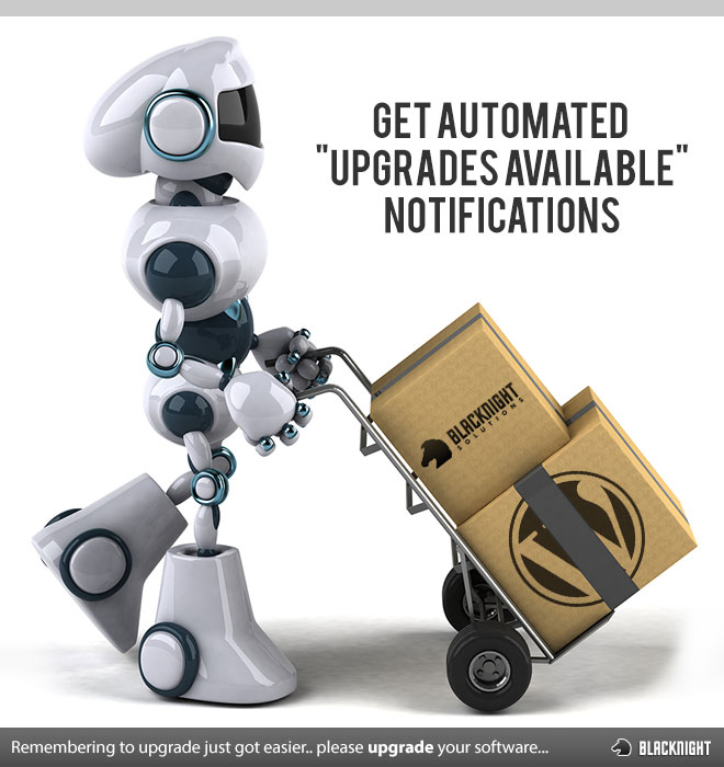 Get Automated Upgrades Available Notifications