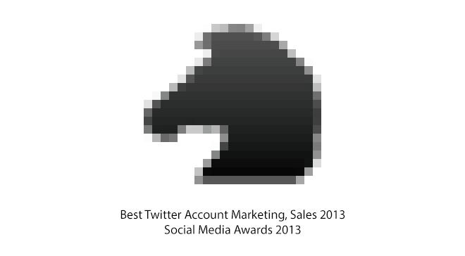 Social Media Awards 2013 Twitter Sales