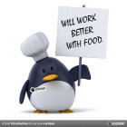 will work better with food