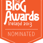 Blog Awards Ireland 2013 - nominee