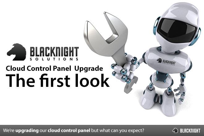 Cloud Control Panel Upgrade