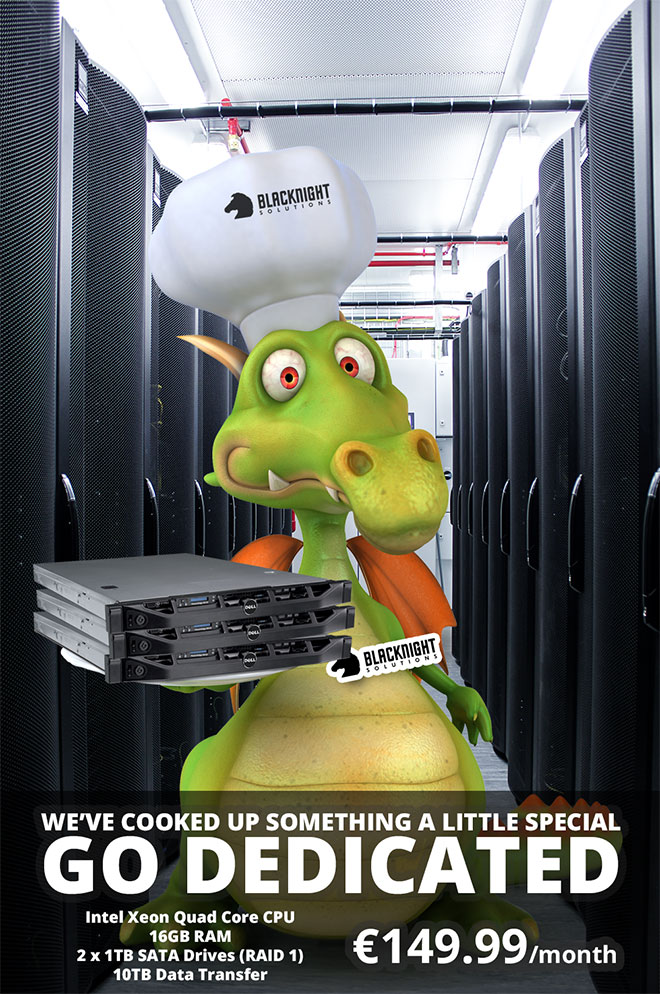 Save big on dedicated servers