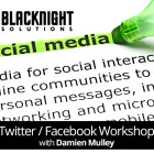 Facebook and Twitter Workshop with Damien Mulley