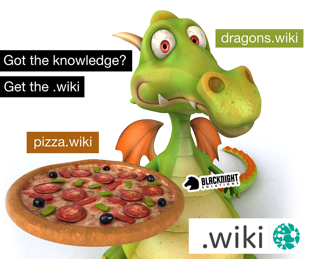 Got The Knowledge? Get the .wiki