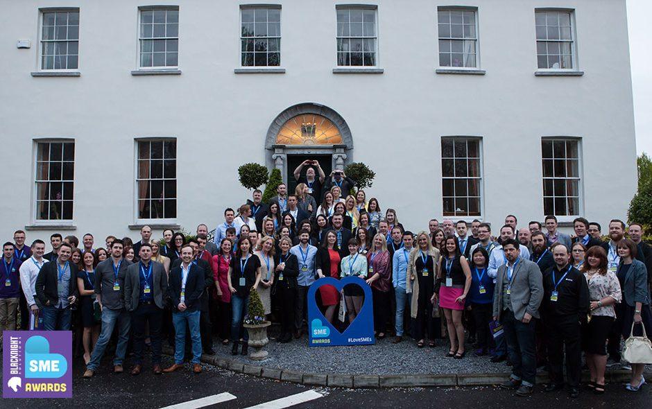 SME Awards 2015 group photo at Radisson Cork
