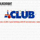 Celebrate Dot Club With Blacknight