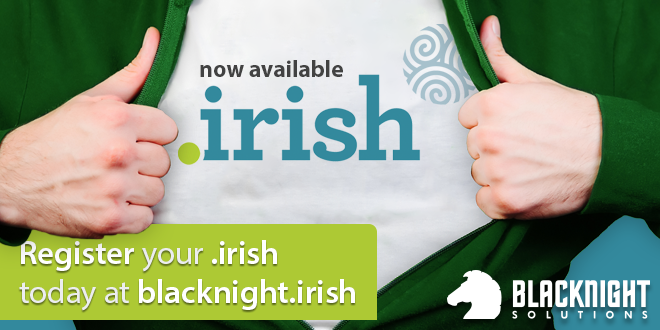 register a .irish domain name today