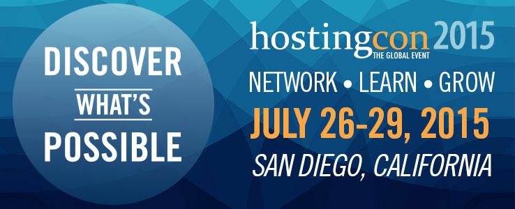 HostingCon Global San Diego 2015