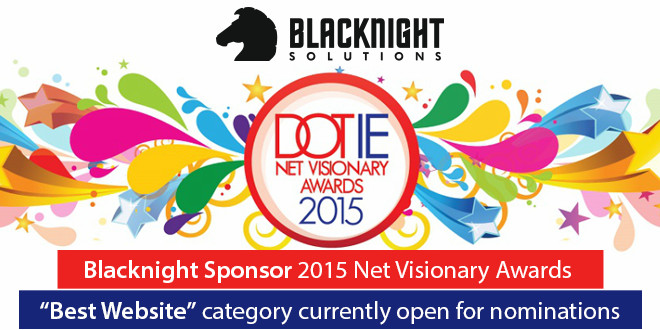 IIA Net Visionary Awards 2015 - Blacknight Sponsor