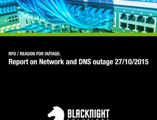 Yesterday's Network & DNS Outage
