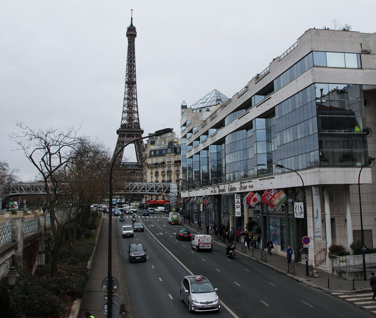 The CAP15 Venue for WCParis 2015